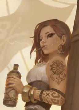 Allix Windchaser - Halfling Barbarian
