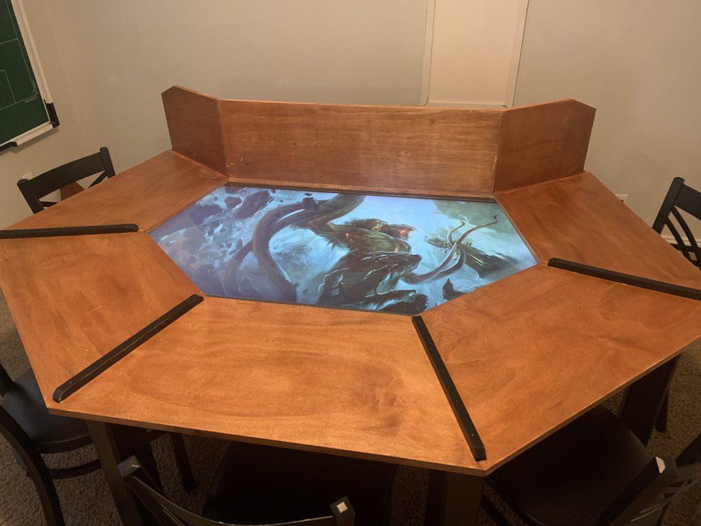@DanDM's custom built table.